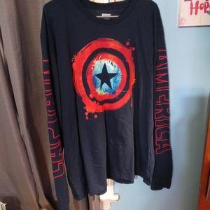 Captain America long sleeve